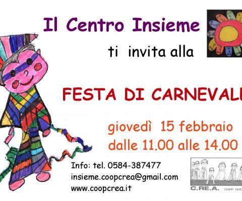 Festa di Carnevale al CDD Insieme di Viareggio