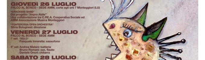 C.RE.A. suona a Monteggiori: AMMFEST 2018