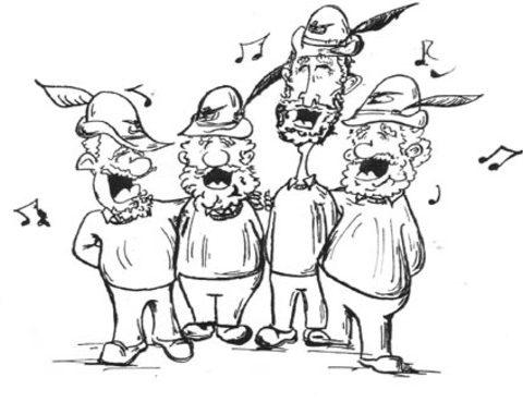 Pomeriggio con il coro degli Alpini