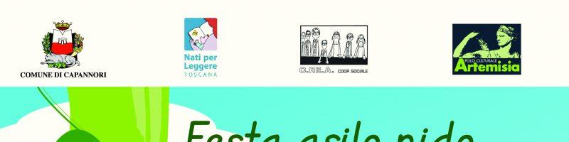 Letture per bambini al Nido Galli di Capannori