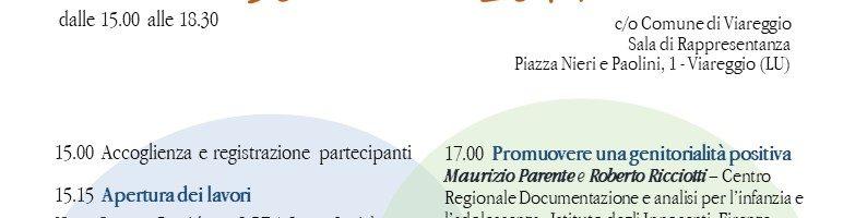 SOSTENERE LA GENITORIALITA' Un seminario formativo a Viareggio