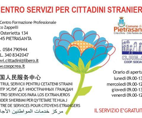 Nuovi orari per il Centro Servizi di Pietrasanta
